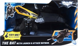 Batman Dark Knight Rises Vehicle BAT with Launch & Attack Batman