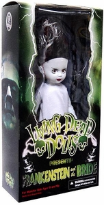 Mezco Toyz Living Dead Dolls Presents Frankenstein and the Bride 10 Inch Figure The Bride