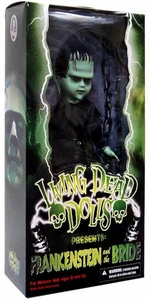 Mezco Toyz Living Dead Dolls Frankenstein & Bride 10 Inch Figure Frankensteins Monster