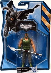Batman Dark Knight Rises 4.5 Inch Action Figure with Accessories Final Assault Bane [Green Shirt]