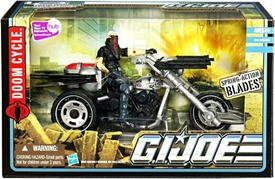GI Joe Pursuit of Cobra Alpha Vehicle Doom Cycle with Storm Rider Action Figure