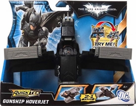 Batman Dark Knight Rises QuickTek Vehicle Gunship Hoverjet