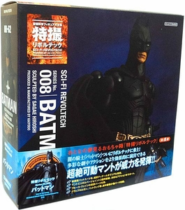 Batman Dark Knight Revoltech #008 Sci-Fi Super Poseable Action Figure Batman