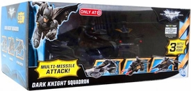 Batman Dark Knight Rises Exclusive Vehicle Dark Knight Squadron [Multi-Missile Attack!]