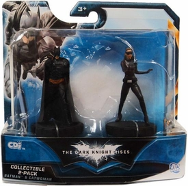 Batman Dark Knight Rises Mini Collectible 2-Pack Batman & Catwoman
