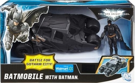 Batman Dark Knight Rises Exclusive Battle For Gotham City Action Figure & Vehicle Batmobile with Batman