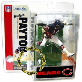 McFarlane Toys NFL Sports Picks Legends Series 2 Action Figure Walter Payton (Chicago Bears) Blue Jersey