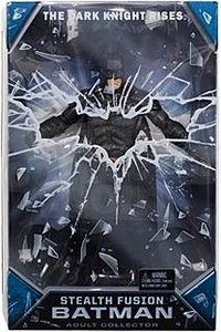 Mattel Dark Knight Rises Exclusive 8 Inch Deluxe Action Figure Stealth Fusion Batman [Endo-Skeletal Articulation!]