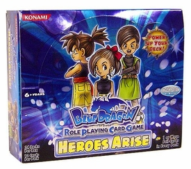 Blue Dragon RPCG Role Playing Card Game Heroes Arise Booster BOX [24 Packs]