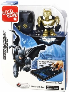 Batman Dark Knight Rises Apptivity Riot Cannon Batman