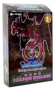 Blue Dragon RPCG Role Playing Card Game Shadow Wielder Starter Deck Dark
