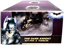 Hot Wheels 2009 SDCC San Diego Comic-Con Exclusive Batman The Dark Knight Vehicles [Bat-Pod & Tumbler]
