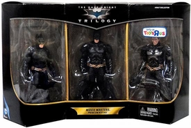 Mattel DC Comics The Dark Knight Trilogy Action Figure 3-Pack Movie Masters Premium Box Set