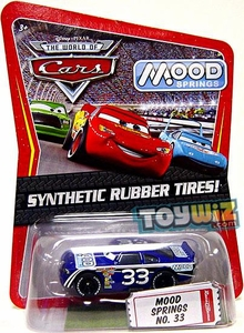Disney / Pixar CARS Movie Exclusive 1:55 Die Cast Car with Synthetic Rubber Tires Mood Springs