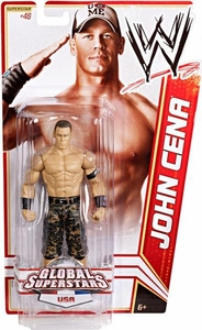 Mattel WWE Wrestling Basic Series 20 Action Figure #46 John Cena [USA] BLOWOUT SALE!