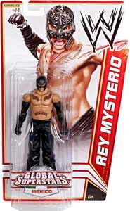 Mattel WWE Wrestling Basic Series 20 Action Figure #44 Rey Mysterio [Mexico]