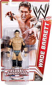 Mattel WWE Wrestling Basic Series 20 Action Figure #48 Wade Barrett [United Kingdom]