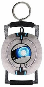 Portal 2 Plush Figure Keychain Wheatley