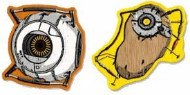 Portal 2 Collectible Patch Set #1 Space Core & POTaDOS