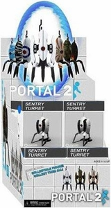 Portal 2 NECA Sentry Turret Mini Figure Series 1 Mystery Box [12 Blind Packs]