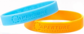 Portal 2 Aperture Science Test Subject Bracelet Set