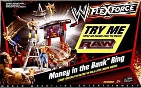 Mattel WWE Wrestling FlexForce Money in the Bank Ring [Ladder Match]