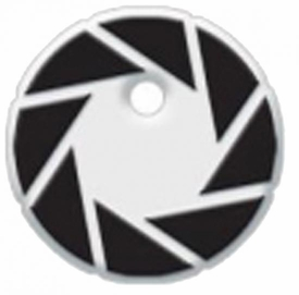 Portal 2 Rubber Key Cap 80's Aperture Icon