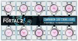 Portal 2 Companion Cube String Lights Pre-Order ships January