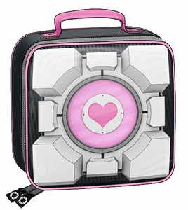 Portal 2 Soft Sided Insulated Lunchbox Companion Cube