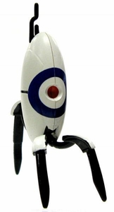 Portal 2 NECA 3 Inch LOOSE Mini Figure Bullseye Sentry Turret [Closed]