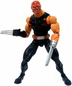 Marvel Legends LOOSE Action Figure Age of Apocolypse Wolverine [Burnt Variant]