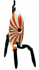 Portal 2 NECA 3 Inch LOOSE Mini Figure Sunburst Sentry Turret [Closed]