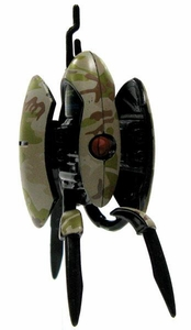 Portal 2 NECA 3 Inch LOOSE Mini Figure Desert Camo Sentry Turret [Opened]