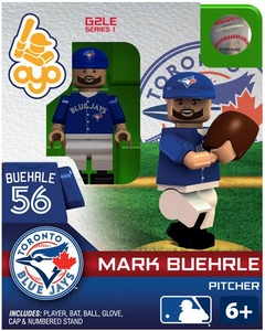 OYO Baseball MLB Generation 2 Building Brick Minifigure Mark Buehrle [Toronto Blue Jays]
