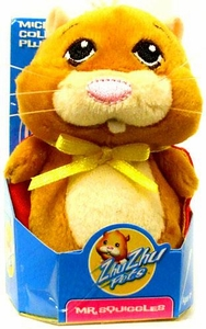 Zhu Zhu Pets Hamster Toy 3 Inch Micro Collectible Plush Figure Mr. Squiggles
