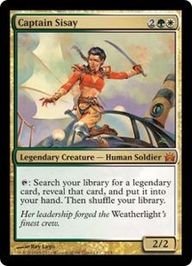 Magic: The Gathering From the Vault: Legends Single Card Gold Mythic Rare #2 Captain Sisay
