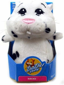 Zhu Zhu Pets Hamster Toy 3 Inch Micro Collectible Plush Figure Moo