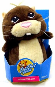 Zhu Zhu Pets Hamster Toy 3 Inch Micro Collectible Plush Figure Scoodles