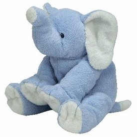 Ty Baby Soft Plush Baby Winks the Blue Elephant