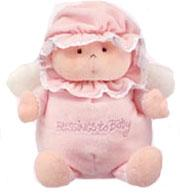 Ty Baby Soft Plush Blessings to Baby Pink