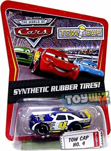 Disney / Pixar CARS Movie Exclusive 1:55 Die Cast Car with Synthetic Rubber Tires Tow Cap