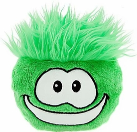 Disney Club Penguin 6 Inch DELUXE Plush Puffle Green [Includes Coin with Code!]