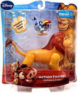 Disney Lion King Exclusive Action Figure Mufasa & Zazu