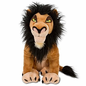 Disney Lion King Exclusive 18 Inch Deluxe Plush Figure Scar