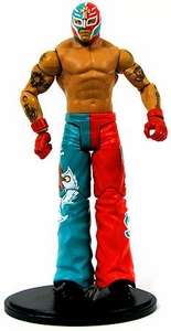 Mattel WWE Wrestling Rey Mysterio Collection LOOSE Action Figure WWE Cruiserweight Champion [June 2003] RED & GREEN!