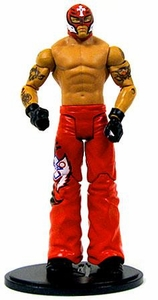 Mattel WWE Wrestling Rey Mysterio Collection LOOSE Action Figure WWE Debut [July 2002] RED!