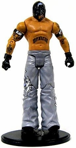 Mattel WWE Wrestling Rey Mysterio Collection LOOSE Action Figure WWE Tag Team Champion [December 2005] SILVER!