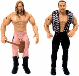 WWE Wrestling Adrenaline Series 3 Loose Action Figures Shawn Michaels & Chris Jericho