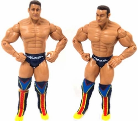 WWE Wrestling Adrenaline Series 8 Loose Action Figures La Resistance Rob Conway & Rene Dupree