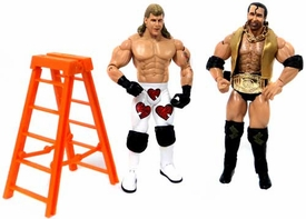 WWE Wrestling Classic Superstars Exclusive Loose Action Figures Razor Ramone & Shawn Michaels